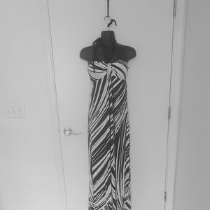 Tommy Bahama Bandeau Style Maxi Dress XS